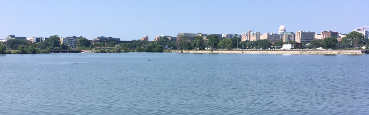 View of Monona Bay at Monona Bay Health Acupuncture & Herbal Boutique